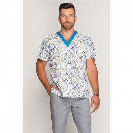 Bluza Medyczna Męska Zwariowane Zoo, Rozmiar  M #1