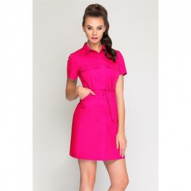 Sukienka Kosmetyczna Sportivo Amarant, Rozmiar 38