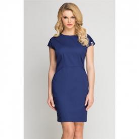 Sukienka Kosmetyczna Vena Blu Marino, Rozmiar 38