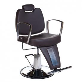 Fotel Barberski HOMER II BH-31275 Brązowy