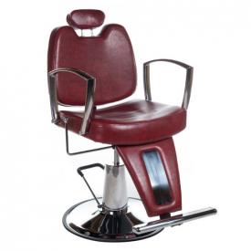 Fotel Barberski HOMER II BH-31275 Czerwony