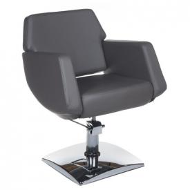 Fotel Fryzjerski NICO Szary BD-1088