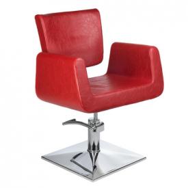 Fotel Fryzjerski Vito BH-8802 Czerwony