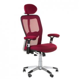 Fotel Ergonomiczny Corpocomfort BX-4147 Czerwony #1