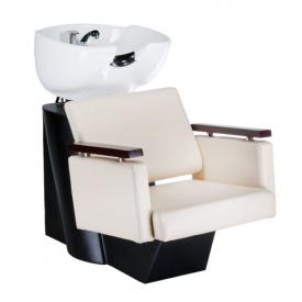 Myjnia Fryzjerska MILO Kremowa BD-7825