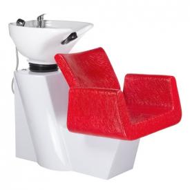 Myjnia Fryzjerska Vito BH-8022 Czerwona LUX