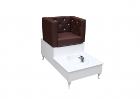 Fotel Do Pedicure Spa I Obrotowy #6