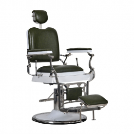 Fotel Barber Maestro Zielony