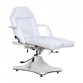 Fotel Kosmetyczny Komfort Duo Biały