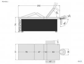 Stół Do Masażu Elektryczny Electro M #4