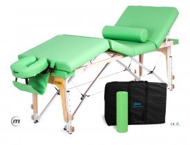 Stół do masażu składany Manual Alu