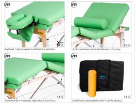 Stół do masażu składany Manual Alu #4
