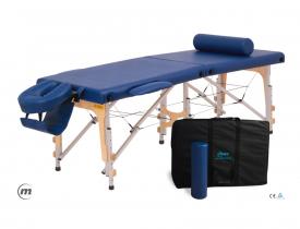 Stół do masażu przenośny składany Premium Ultra Alu
