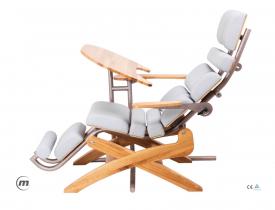 Fotel + Stolik Pod Laptopa Zerog Oak S