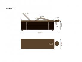 Leżanka Spa Lux M1 Bw #2