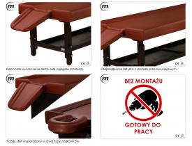 Stół Do Masażu Składany Veda_XT #2