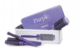 Zestaw 5 Szczotek C.Ramic Purple (I7, 23, 28, 32, 43mm)
