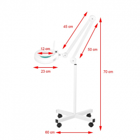 Lampa Lupa Led S4 + Statyw #4