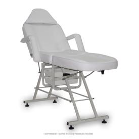 Fotel Kosmetyczny Standard Max Biały #2