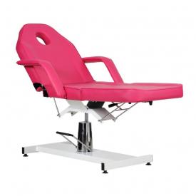 Fotel Kosmetyczny Standard Bis RÓŻOWY #4