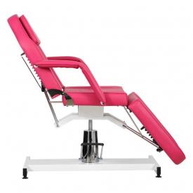 Fotel Kosmetyczny Standard Bis RÓŻOWY #7