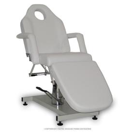 Fotel Kosmetyczny Standard Bis Biały #4