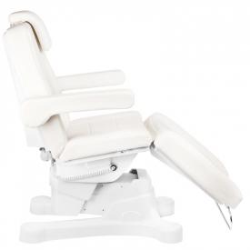 Fotel Kosmetyczny Elektr. A-207 kość słoniowa (4 Silniki) #9