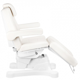 Fotel Kosmetyczny Elektr. A-207 White/Ivory (4 Silniki) #9