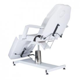 Fotel Kosmetyczny Hydrauliczny BW-210 Biały #2