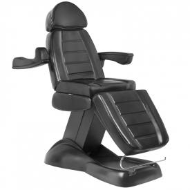 Fotel Kosmetyczny Elektryczny Lux Czarny #3