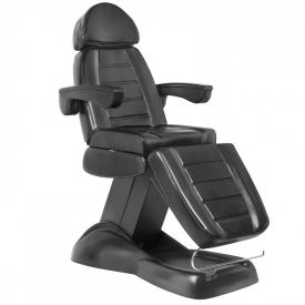 Fotel Kosmetyczny Elektryczny Lux Czarny