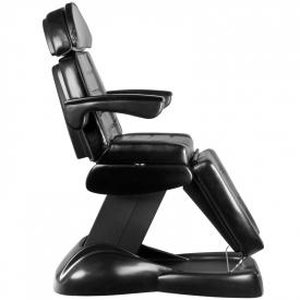 Fotel Kosmetyczny Elektryczny Lux Czarny #6