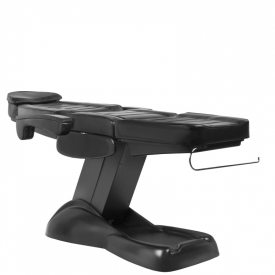 Fotel Kosmetyczny Elektryczny Lux Czarny #8