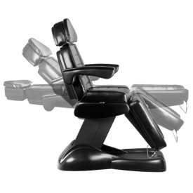 Fotel Kosmetyczny Elektryczny Lux Czarny #12