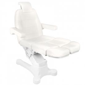 Fotel Kosmetyczny Elektr. A-207c Pedi White/Ivory (5 Silników) #2