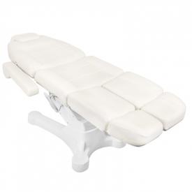 Fotel Kosmetyczny Elektr. A-207c Pedi White/Ivory (5 Silników) #7