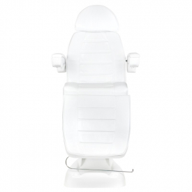 Fotel Kosmetyczny Elektryczny Lux 4M Biały Z Kołyską #5