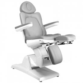 Fotel Kosmetyczny Elektr. Azzurro 870s Pedi 3 Siln. Szary #2