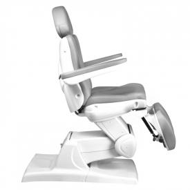Fotel Kosmetyczny Elektr. Azzurro 870s Pedi 3 Siln. Szary #5