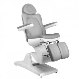 Fotel Kosmetyczny Elektr. Azzurro 870s Pedi 3 Siln. Szary #8