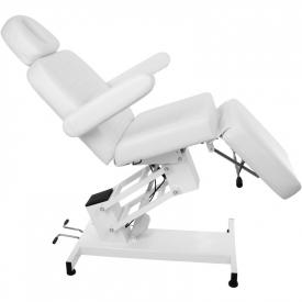 Fotel Kosmetyczny Elektr. Azzurro 705 1 Siln. Biały #7
