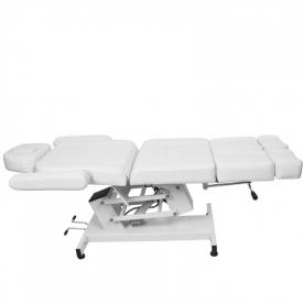 Fotel Kosmetyczny Elektr. Azzurro 706 Pedi 1 Siln. Biały #6