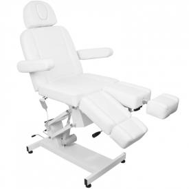 Fotel Kosmetyczny Elektr. Azzurro 706 Pedi 1 Siln. Biały #9