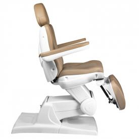 Fotel Kosmetyczny Elektr. Azzurro 870s Pedi 3 Siln. Cappuccino #8