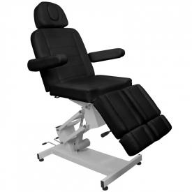 Fotel Kosmetyczny Elektr. Azzurro 706 Pedi 1 Siln. Czarny #2