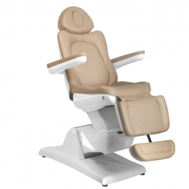 Fotel Kosmetyczny Elektr. Azzurro 870 3 Siln. Cappuccino #4