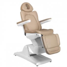Fotel Kosmetyczny Elektr. Azzurro 870 3 Siln. Cappuccino #6