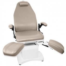 Fotel Podologiczny Elektr. Azzurro 709a 3 Siln. Cappuccino #4