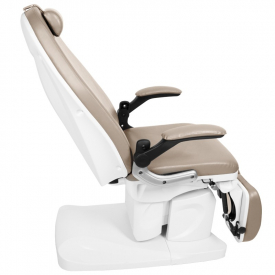 Fotel Podologiczny Elektr. Azzurro 709a 3 Siln. Cappuccino #7