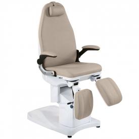 Fotel Podologiczny Elektr. Azzurro 709a 3 Siln. Cappuccino #8